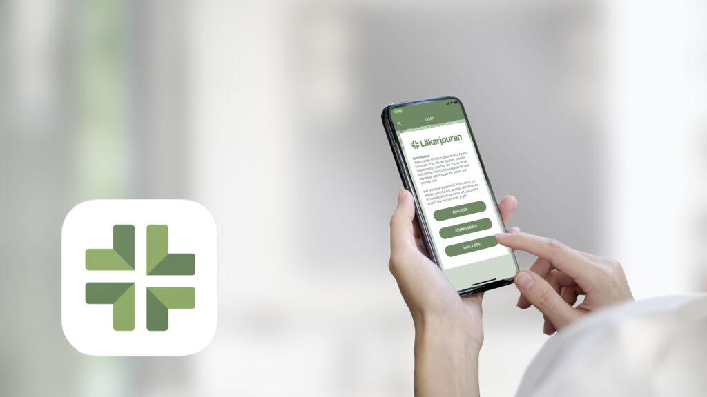 Läkarjouren lanserar app